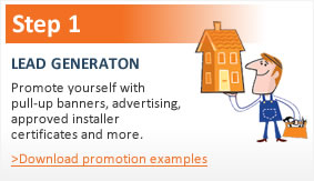 Step 1 - lead generation marketing