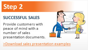 Step 2 sales presentation