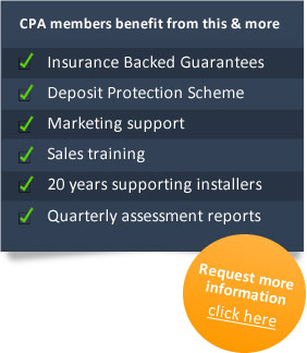 Services the CPA offers trade members include insurance backed guarantees, deposit protection, marketing support, sales training and assessment reports