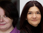 Women in construction and glazing: Sarah Mitchell, Su Butcher, Petita Wiles, Gemma Roe