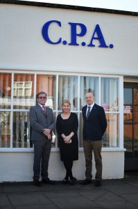 CPA staff with MP Nadine Dorries