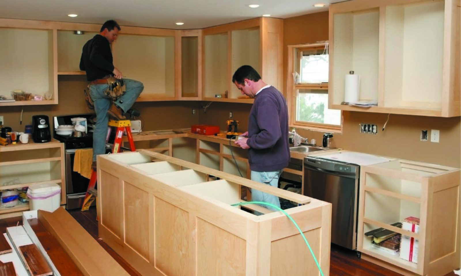 Expected costs when planning a kitchen remodel working man for Cost of renovating a kitchen uk