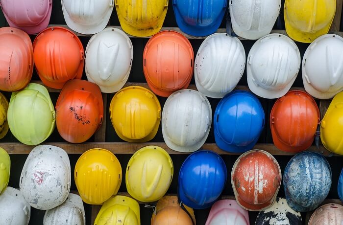 UK construction helmets