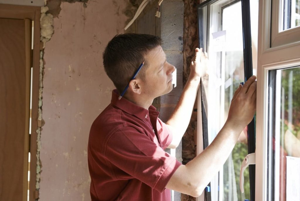Replacing the glass in a window